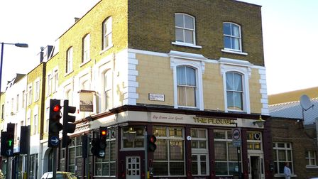 The Plough, on the junction of Tollington Park and Hornsey Road, in 2009. Picture: Ewan Munro/Flickr