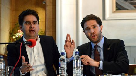 Alain Desmier, pictured at the Islington Gazette election hustings in May, finished third in Islingt