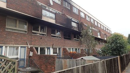 Four fire crews were called to Earlsferry Way, in the Bemerton Estate of Caledonian Road, to deal wi