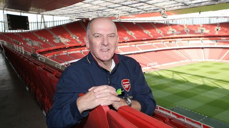 Alan Sefton, head of Arsenal in the Community. Picture: David Price/Arsenal Football Club