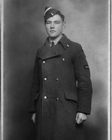 A young Philip dressed in RAF uniform