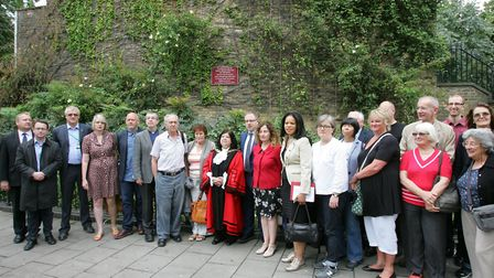 Survivors, members of the public and Islington councillors gathered at the scene of the Highbury Cor
