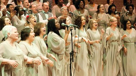Manchester Inspirational Voices are performing in Wembley in a free Luv Gospel festival (Pictures: W