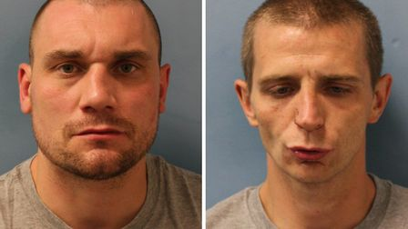 Jailed: Mathew Brothers and James Dixon. Picture: Met Police