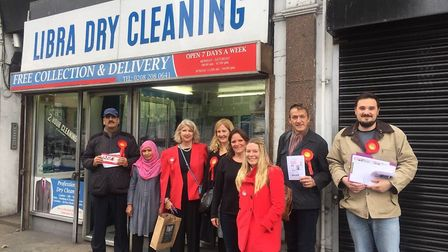 Cross borough campaigners are urging business to clean their shop fronts in Cricklewood Broadway
