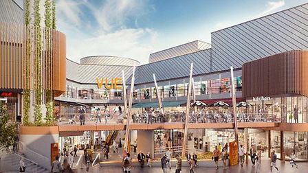 An artist's impression of the planned Angel Central redevelopment. Picture: Cunning Plan