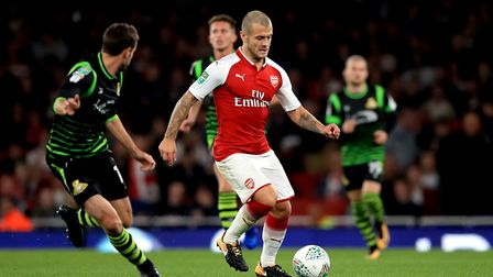 Wilshere is fit and has shown impressive form for Arsenal this season. PA
