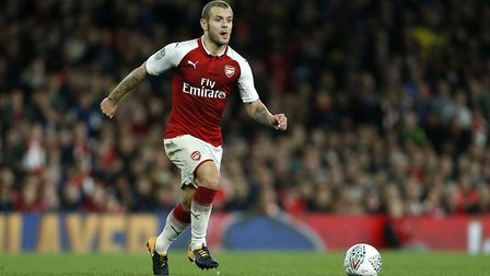 Jack Wilshere has said he wants to become an Arsenal legend and win the league title at the club. PA