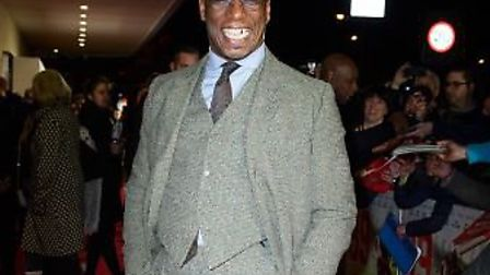 Ian Wright at the premier of 89 The Film