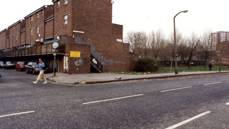 The Andover Estate in the 1980s. Picture: Islington Local History Centre