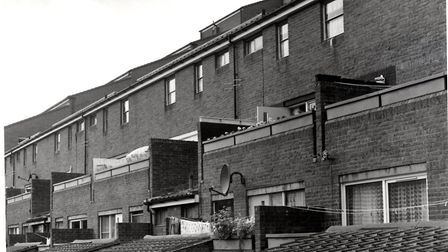 The Andover Estate in the 1990s. Picture: Islington Local History Centre