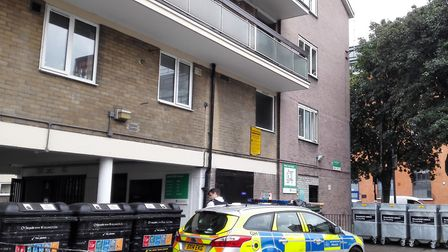 Westcliff House in the aftermath of Lee Jay Hatley's death on June 26. Picture: Valeria Fiore