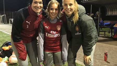 Arsenal have announced a tie-up with Hitchin Belles FC