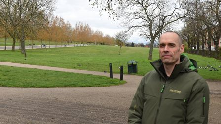 Tom Palin, leader of the Friends of Finsbury Park campaign group. Picture: Ken Mears
