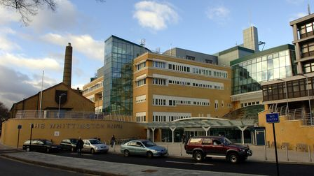 The Whittington Hospital in Archway. Picture: Steve Parsons/PA Archive