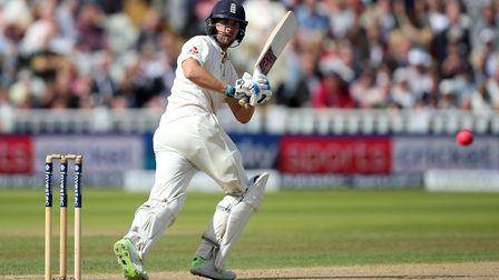 England's Dawid Malan hit a centur in their Ashes warm-up match against a Cricket Australia XI in To