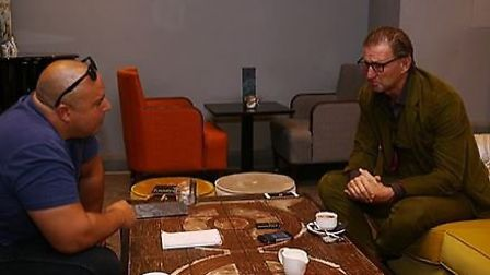 How Wenger's side could do with Tony Adams in the side today. Adams is pictured in discussion with L