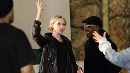 Maggie Norris and The Big House in rehearsals. Picture: Catherine Ashmore