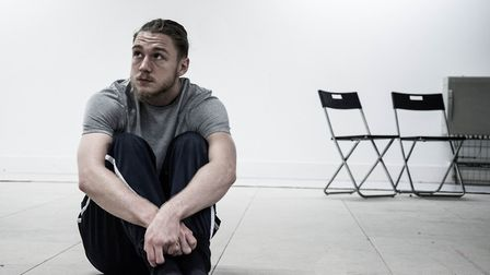 Aston McCauley from The Big House in rehearsals. Picture: Sonia Archer