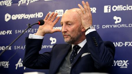 Queens Park Rangers manager Ian Holloway (pic Steven Paston/PA)