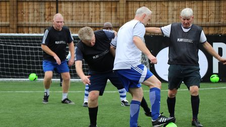 The London Football Association has launched walking football sessions.