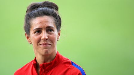 Fara Williams netted twice against former club Arsenal for Reading (pic Mike Egerton/PA)