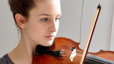 Violinist Lily Harwood, 15, has been accepted into the National Youth Orchestra.