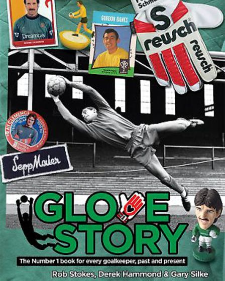 The book Glove Story features Arsenal legend Bob Wilson and supports the Willow Foundation
