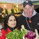 Serpil Erce and Dave Jackson, Islington Council's 2017 market traders of the year. Picture: Steve Ba