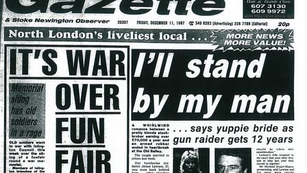 Islington Gazette: December 11, 1987