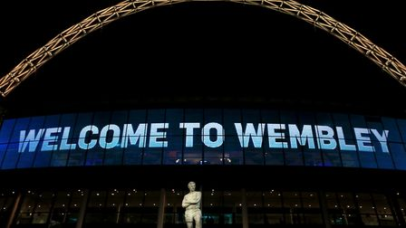 File photo dated 19-11-2013 of The statue of Bobby Moore outside Wembley Stadium