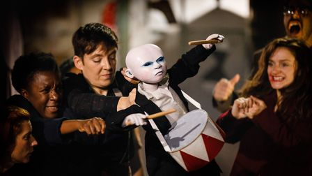 Tin Drum at Shoreditch Town Hall. Picture: Steve Tanner