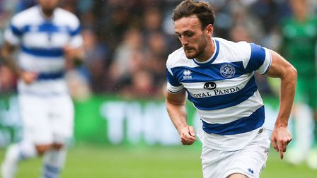 Jack Robinson netted his first goals for QPR at Birmingham (pic Scott Heavey/PA)