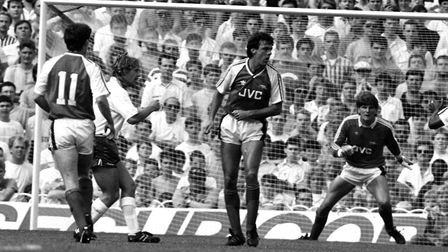 Arsenal veteran David O'Leary who served the club with distinction for more than two decades. PA