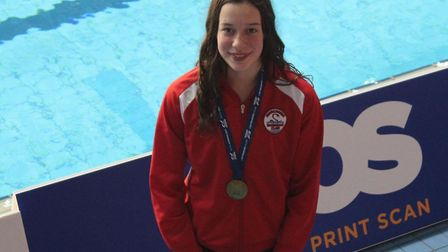 Anaconda Swimming Club's Elena Dewhurst will represent London at the Flanders Cup in January