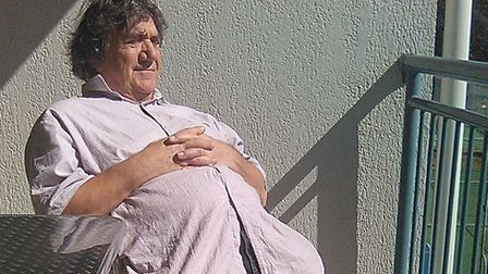 Alun Renshaw today, at his home in Australia. Picture: Alun Renshaw