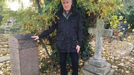 Patrick Daly discovered the graves of Dido Belle's relatives, Charles Daviniere, her son and Charle