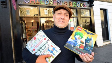 Mark Dunford, owner of The Children's Bookshop in Chadwell Street, Islington. Picture: Polly Hancock