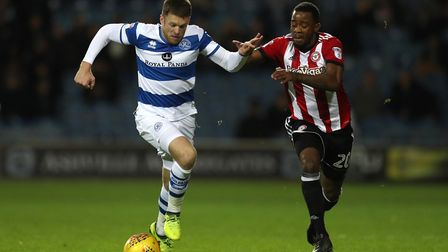 Jamie Mackie was one of two Queens Park Rangers to be dismissed at Preston North End, along with Ale