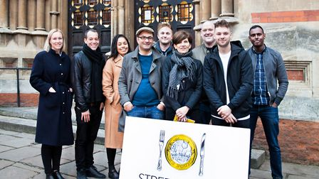Islington restauranters are supporting Clerkenwell charity StreetSmart this Christmas by adding an o