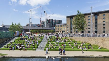 An independent study has claimed King's Cross is now a 'vital piece of the London economy' following