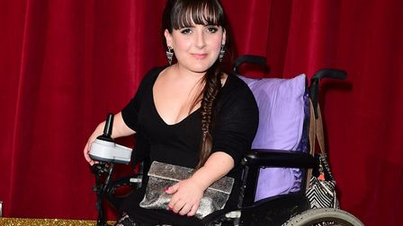 EastEnders actress Lisa Hammond, pictured at a soap awards ceremony in 2015, grew up in Whitecross S