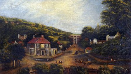'The Archway, Upper Holloway' by William Westall, circa 1840. Picture: Islington Local History Centr