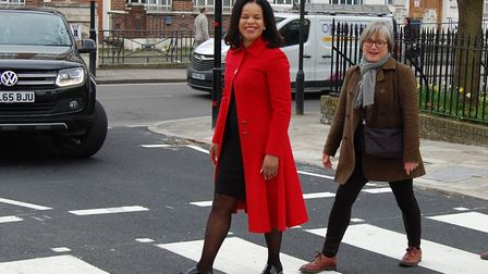 Cllrs Claudia Webbe and Caroline Russell clashed over cycle infrastructure in Islington at last nigh