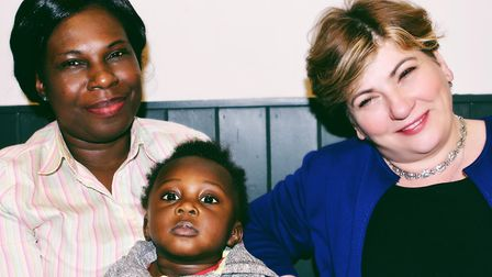 Islington South and Finsbury MP Emily Thornberry at the launch of the Unity Project in New Unity, Up