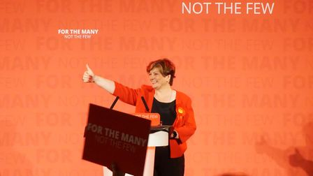 Emily Thornberry received an ecstatic reception during a rally at Islington's Union Chapel the night
