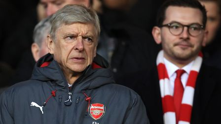 Arsenal manager Arsene Wenger as his team is humiliated 4-2 by Forest