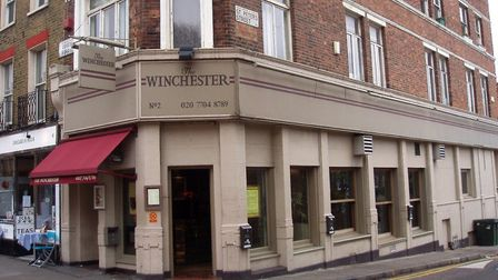 A review of The Winchester's licence has been called by neighbours in Colebrooke Row. Picture: Ewan