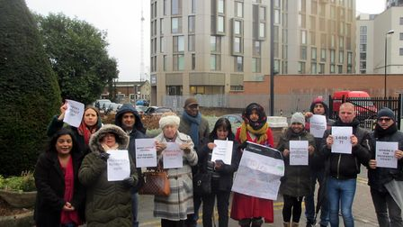 Members of Danes and Empire Court Residents Association slam council's lack of consultation ahead of