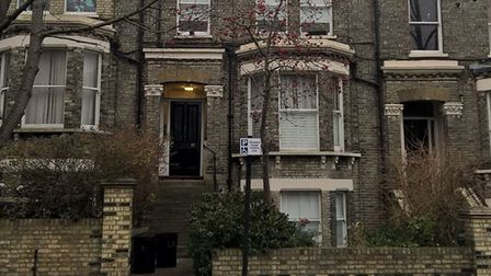 The house in Dartmouth Park Hill where Angela Best died. Picture: Léa Legraien